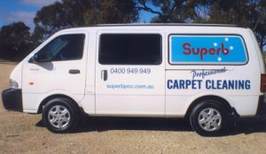 Superb Carpet Cleaning Van